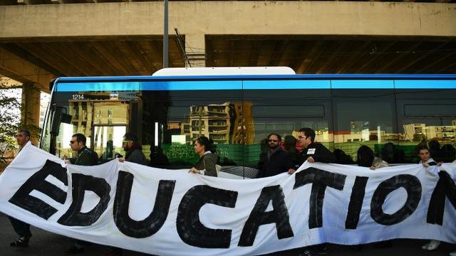 Manifestation d'enseignants à Marseille le 17 novembre 2016 [ANNE-CHRISTINE POUJOULAT / AFP/Archives]