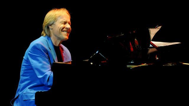 Le pianiste français Richard Clayderman lors d'un concert à Managua, le 6 février 2010. [ELMER MARTINEZ / AFP/Archives]