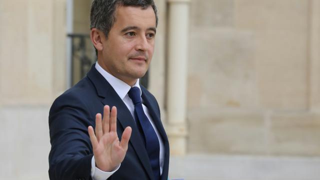 Le ministre de l'Action et des Comptes publics Gérald Darmanin à la sortie du conseil des ministres, le 3 octobre 2018 à Paris [LUDOVIC MARIN / AFP/Archives]