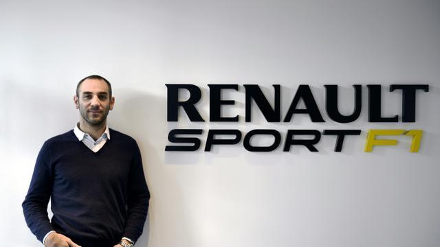Le directeur général de Renault Sport F1, Cyril Abiteboul, le 18 décembre 2014 à Viry-Châtillon, en région parisienne [Franck Fife / AFP/Archives]