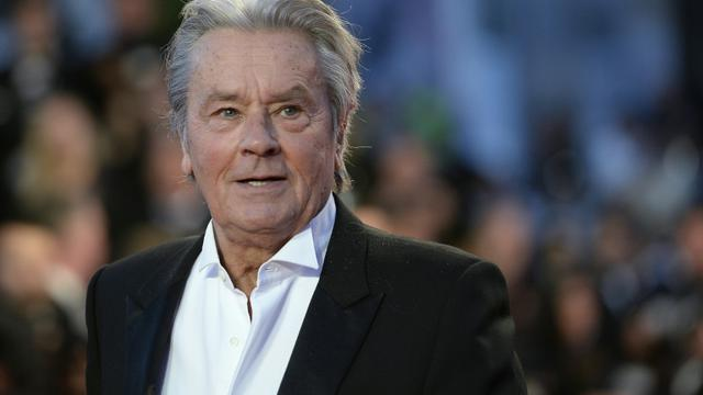 Alain Delon à Cannes le 25 mai 2013 [ANNE-CHRISTINE POUJOULAT / AFP/Archives]