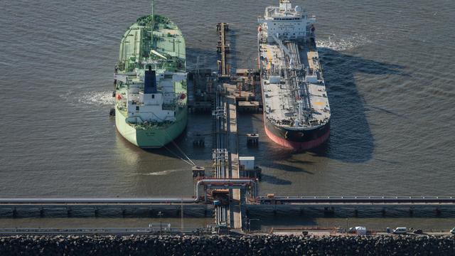 Des pétroliers [Yasuyoshi Chiba / AFP/Archives]