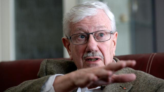 L'ancien maire socialiste de Molenbeek, Philippe Moureaux, le 17 février 2016 [THIERRY CHARLIER / AFP]