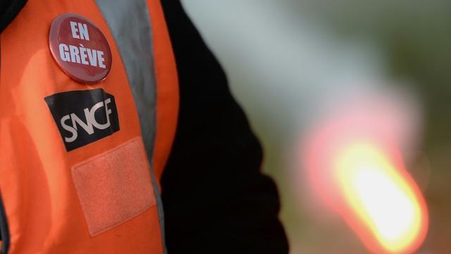 Le trafic SNCF sera de nouveau perturbé le 3 juin 2018, pour le 26e jour de grève depuis début avril [JEAN-SEBASTIEN EVRARD / AFP/Archives]