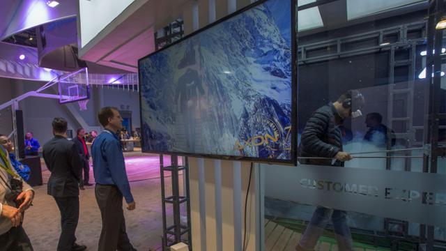 Les entreprises de high tech françaises seront présentes en force au Consumer Electronics Show de Las Vegas [DAVID MCNEW / AFP/Archives]