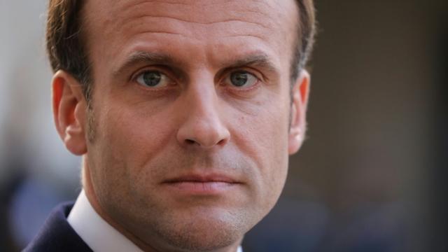 Emmanuel Macron, à Paris, le 20 mai 2019 [ludovic MARIN / AFP/Archives]