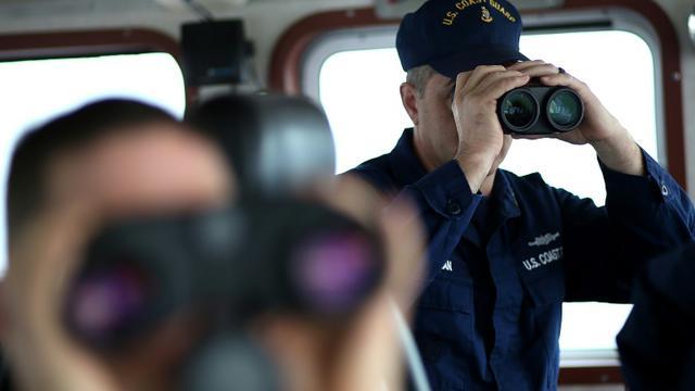 Des garde-côtes américains, le 7 mars 2013   [JUSTIN SULLIVAN / GETTY IMAGES NORTH AMERICA/AFP/Archives]