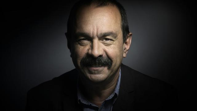 Le secrétaire général de la CGT Philippe Martinez pose le 22 avril 2015 à Paris [Joël SAGET / AFP/Archives]