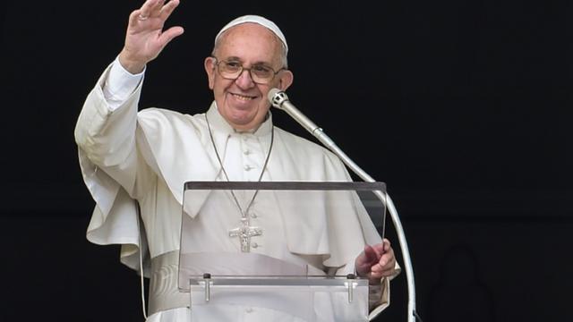 Le pape François fait un geste oecuménique sans précédent à l'égard des protestants [ANDREAS SOLARO / AFP/Archives]