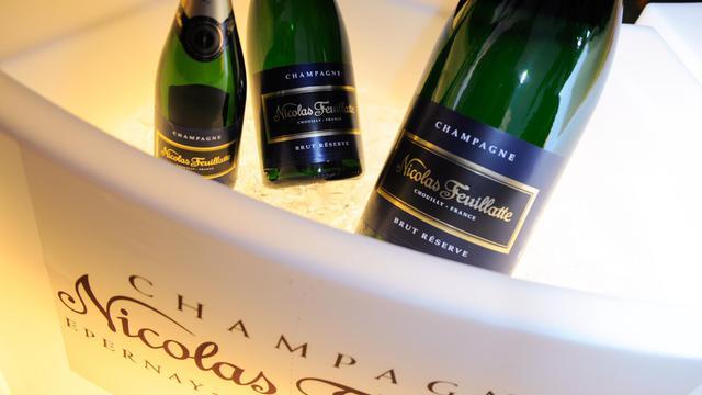 Nicolas Feuillatte a donné son nom à la plus grande coopérative de Champagne [Sergi Alexander / Getty/AFP/Archives]