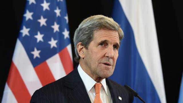 Le secrétaire d'Etat américain John Kerry à Munich, le 12 février 2016  [Christof STACHE / AFP]