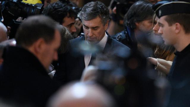 L'ancien ministre Jérôme Cahuzac, le 8 février 2016  [LIONEL BONAVENTURE / AFP]