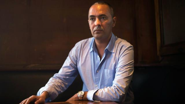 L'écrivain algérien Kamel Daoud, le 27 octobre 2014 à Marseille [BERTRAND LANGLOIS / AFP]