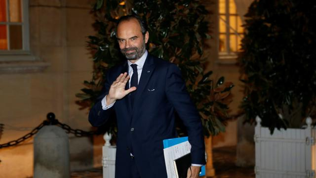 Edouard Philippe, à l'hôtel Matignon le  3 décembre 2018 [FRANCOIS GUILLOT / AFP]