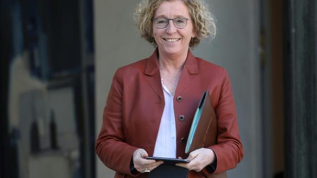 La ministre du Travail Muriel Penicaud le 27 février 2019 à Paris [LUDOVIC MARIN / AFP/Archives]