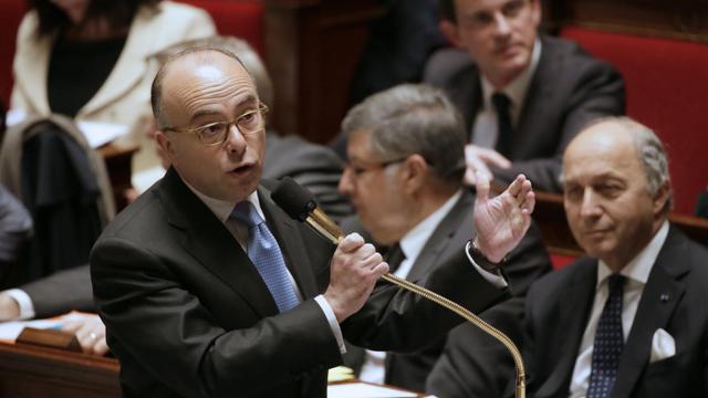 Le ministre du Budget, Bernard Cazeneuve, le 21 mai 2013 à l'Assemblée nationale à Paris [Kenzo Tribouillard / AFP/Archives]