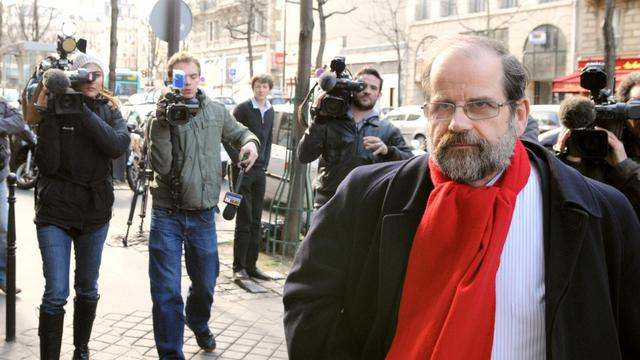 Michel de Virville, auteur du rapport sur le futur compte pénibilité, le 3 mars 2008 à Paris [Miguel Medina / AFP/Archives]