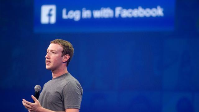 Mark Zuckerberg, patron de Facebook, le 25 mars 2015 à San Francisco [Josh Edelson / AFP/Archives]