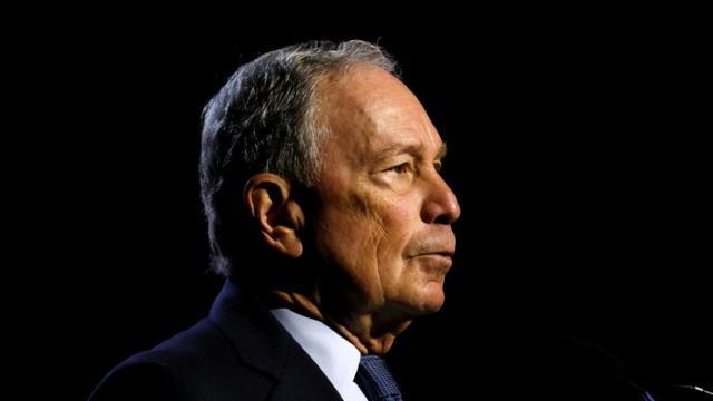 L'ancien maire de New York Michael Bloomberg le 24 juillet 2019 à Détroit dans le Michigan, aux Etats-Unis [JEFF KOWALSKY / AFP]