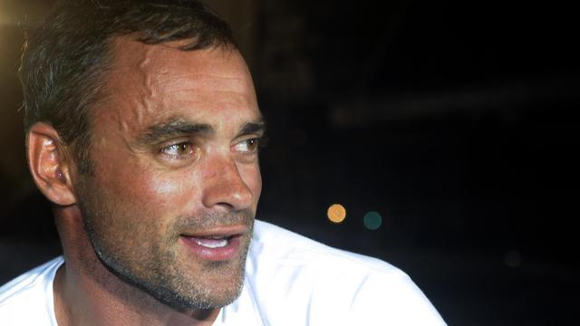 portrati du skipper français Yann Guichard, le 12 njovembre 2012 en Guadeloupe [Damien Meyer / AFP/Archives]