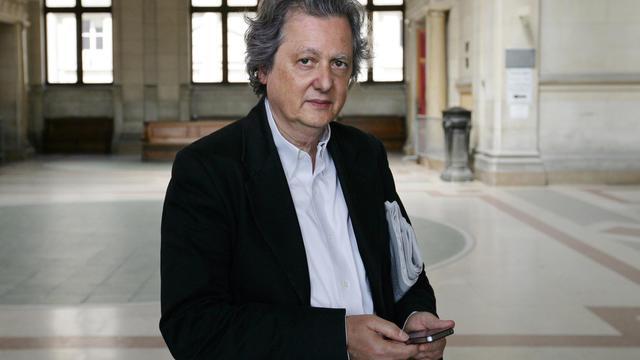Le président du site d'information Rue89, Pierre Haski en 2011 à Paris [Alexander Klein / AFP/Archives]
