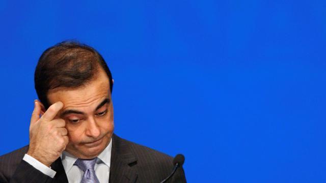 Carlos Ghosn, le 29 avril 2005 à Paris [Eric Feferberg / AFP/Archives]