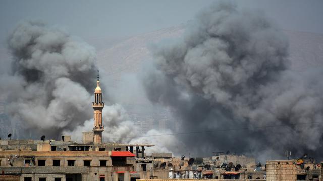 17 civils tués dans des bombardements au sud de Damas — Syrie