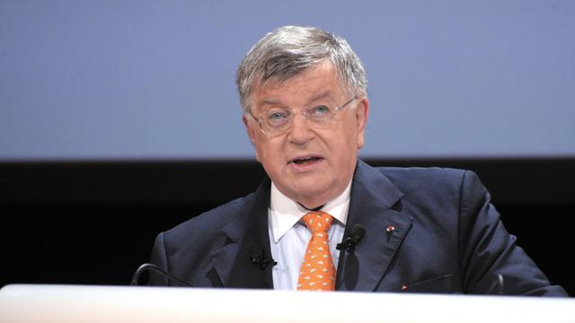 L'ancien PDG de France Télécom, Didier Lombard, le 9 juin 2010 [Eric Piermont / AFP/Archives]