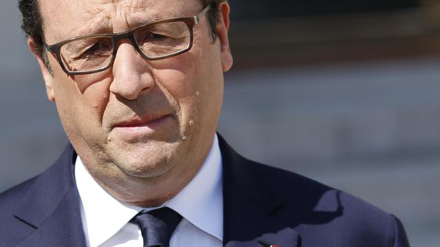 François Hollande le 25 juillet 2014 à Paris [Kenzo Tribouillard / AFP/Archives]