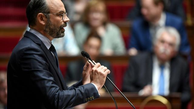 Edouard Philippe, à l'Assemblée nationale, à Paris, le 12 juin 2019 [Alain JOCARD / AFP]