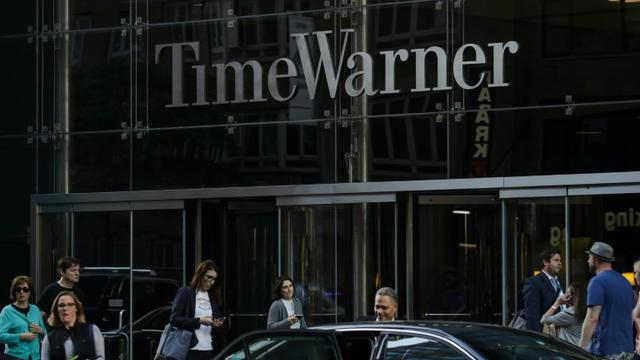Le bâtiment Time Warner, où se trouvent les bureaux de la chaîne d'information en continu CNN, au coeur de Manhattan à New York, a été évacué [Drew Angerer / GETTY IMAGES NORTH AMERICA/AFP/Archives]