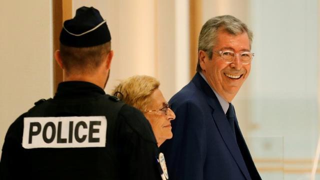 Patrick et Isabelle Balkany arrivant au tribunal, à Paris, le 13 septembre 2019 [Thomas SAMSON / AFP/Archives]