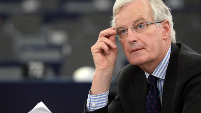 Le commissaire européen Michel Barnier, le 12 juin 2013 au Parlement européen à Strasbourg [Patrick Hertzog / AFP/Archives]
