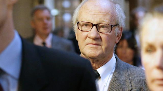 Pierre Pallardy à son arrivée au palais de justice le 18 octobre 2015 à Paris [Fred Dufour / AFP/Archives]