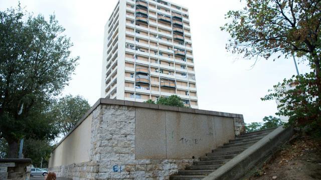 Vue d'une tour de la cité de la Busserine à Marseille, le 6 octobre 2016  [BERTRAND LANGLOIS / AFP/Archives]