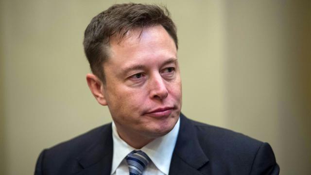 Le PDG de Tesla, Elon Musk, le 23 janvier 2017 à Washington [NICHOLAS KAMM / AFP/Archives]
