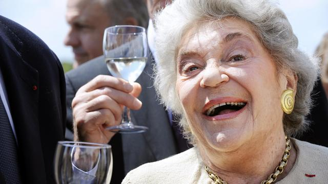 La baronne Philippine de Rothschild le 21 juin 2009 à Bordeaux [Jean-Pierre Muller / AFP/Archives]