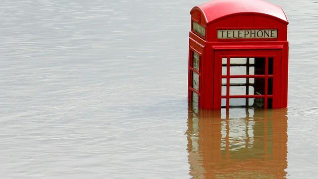 Vue d'inondations à Sheffield, au Royaume-Uni, le 26 juin 2007  [PAUL ELLIS / AFP/Archives]