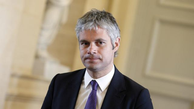 Laurent Wauquiez (UMP), 3 avril 2013 à Paris [Kenzo Tribouillard / AFP/Archives]