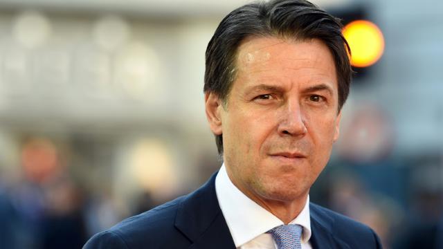 Le Premier ministre italien Giuseppe Conte à Salzbourg, en Autriche, le 20 septembre 2018 [Christof STACHE / AFP]