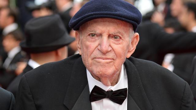 Le producteur et réalisateur israélien Menahem Golan, décédé vendredi à Jaffa à l'âge de 85 ans, photographié au festival de Cannes le 16 mai 2014 [Alberto Pizzoli / AFP/Archives]