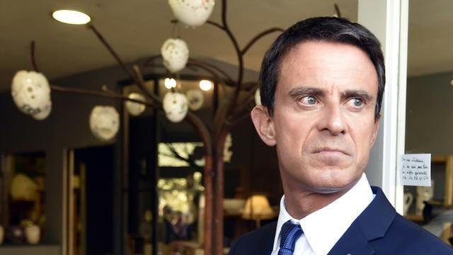 Le Premier ministre Manuel Valls le 11 septembre 2015 à Martres-Tolosane [PASCAL PAVANI / AFP]