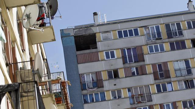 Des immeubles de logements sociaux au nord de Paris [Alexander Klein / AFP/Archives]