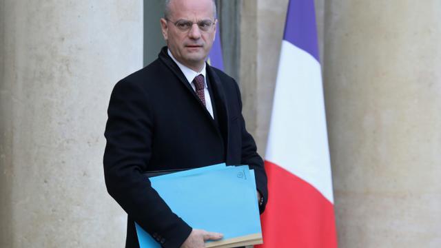 Le ministre de l'Education Jean-Michel Blanquer quitte le Palais de l'Elysée, le 19 décembre 2018 [LUDOVIC MARIN / AFP]