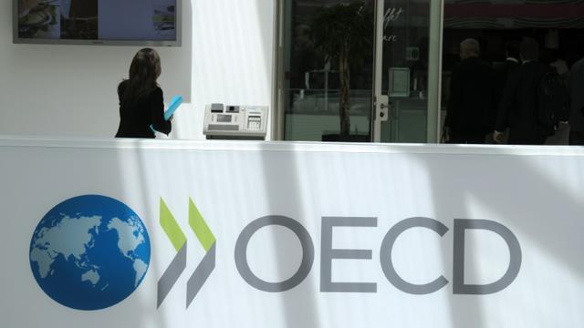 L'OCDE baisse légèrement ses prévisions de croissance mondiale à 3,0%  [Eric Piermont / AFP/Archives]
