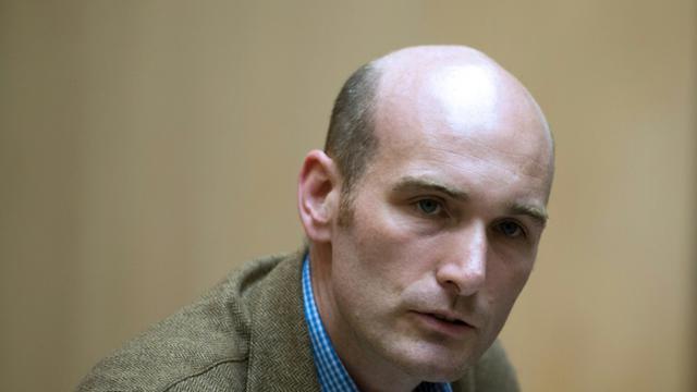 Le journaliste du Point Nicolas Hénin, le 6 septembre 2014, ancien otage en Syrie, a reconnu Mehdi Nemmouche comme son geôlier [Alain Jocard / AFP/Archives]