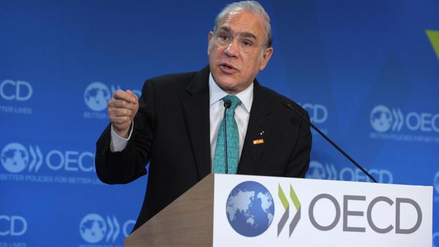 Le Secrétaire général de l'OCDE Angel Gurria, le 19 mai 2013 à Paris [Eric Piermont / AFP/Archives]