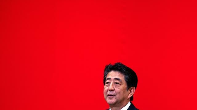 Le Premier ministre japonais démissionnaire Shinzo Abe, le 24 juillet 2019  [Behrouz MEHRI / AFP]
