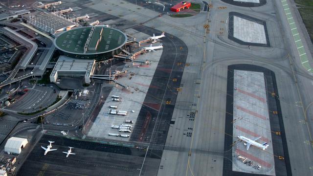L'aéroport de Nice où un homme soupçonné de recruter pour le jihad a été arrêté  [Valery Hache / AFP/Archives]
