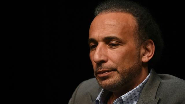L'islamologue suisse Tariq Ramadan le 26 mars 2016 à Bordeaux [MEHDI FEDOUACH / AFP/Archives]